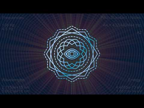 108 Hz With 4.5 Hz - Enhanced Learning Capabilities, Flow State - Theta Wave Meditation
