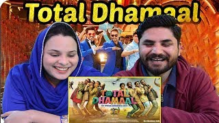 Pakistani Reacts To | Total Dhamaal | Official Trailer | Ajay | Anil | Madhuri | Indra Kumar