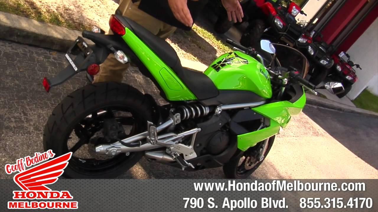 Geoff Bodine Honda >> 2009 Ninja 650 R Kawasaki Geoff Bodine S Of Honda Melbourne Fl