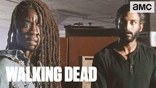 'Michonne's Journey of Trust' Inside of Ep. 907 BTS   The Walking Dead