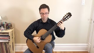 Method Book 2 Lesson: C Major, Menuet, Vals by Carulli for Classical Guitar