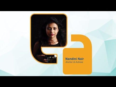 Nandini Nair (Anchor and Actress) - Federal Bank Speak For India: Kerala Edition 2016