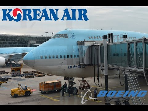 KOREAN AIR 747! | Korean Airlines (ECONOMY) | Manila to Seoul | Boeing 747-4B5 | Tripreport |
