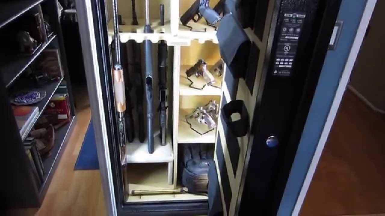 Gun Safe Solution  Cannon 24 Gun Safe Custom LED Lighting