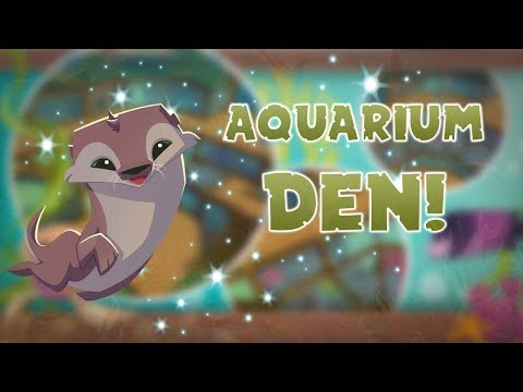 Animal Jam Play Wild: Getting An Otter and The Aquarium Den!