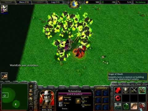 World Editor Versus - Tichondrius (Player Controlled) Vs Archimonde (Computer)