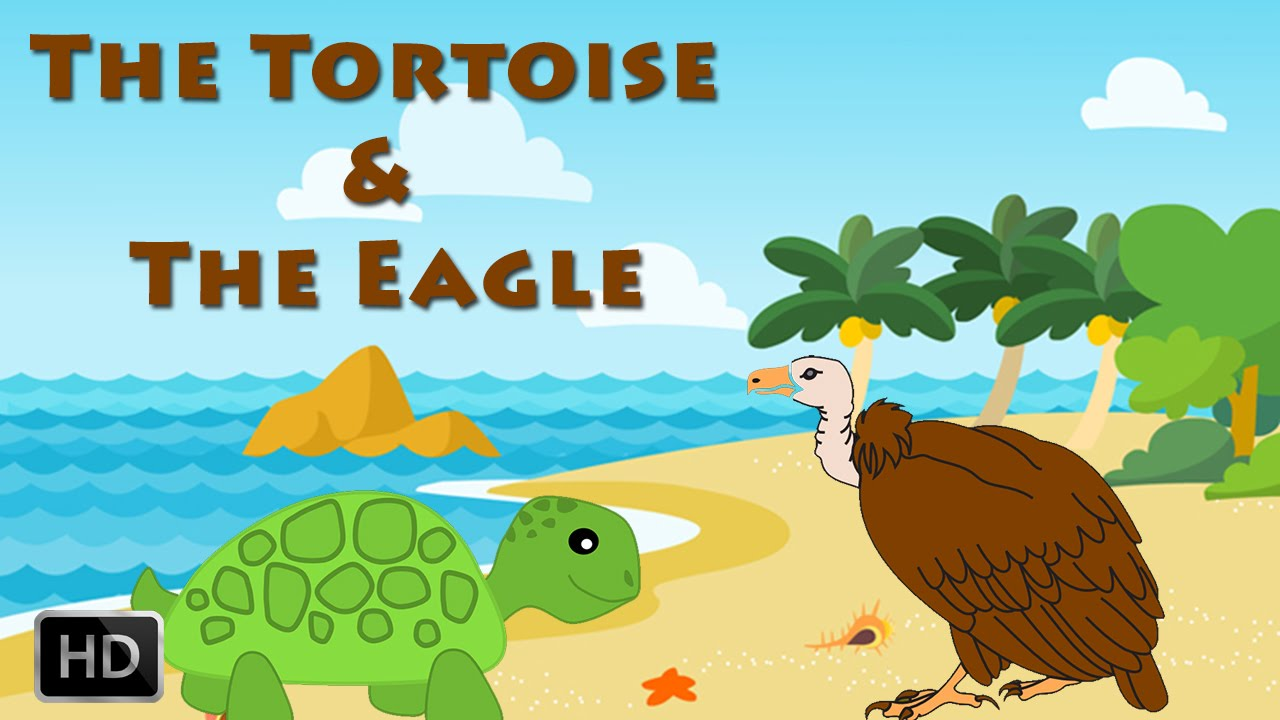 Aesop's Fables - The Tortoise & The Eagle - Moral Stories for ...