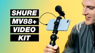 New All-in-One Smartphone Video Kit – Shure MV88+ Review