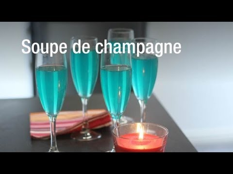recette de la soupe de champagne youtube. Black Bedroom Furniture Sets. Home Design Ideas