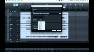 Capture 2: Exporting Tracks