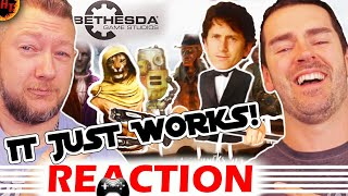 ''It Just Works'' REACTION: Todd Howard Song — (BETHESDA the Musical) E3 2019