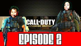 CALL OF DUTY ADVANCED WARFARE : GAMEPLAY - Episode 2 - MOM VS SON FAMILY FUN