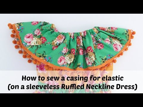 How To Sew A Neckline Casing