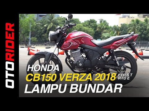 All New Honda CB150 Verza 2018 First Ride Indonesia | OtoRider
