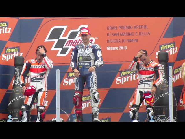 Podium Awards - Misano MotoGP 2013 Travel Video