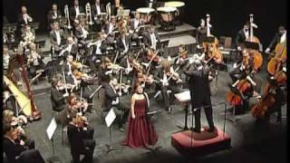 Granados Goyescas. La Maja y el ruiseñor. Gloria Sánchez.soprano