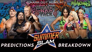 WWE SUMMERSLAM 2017 PPV Event Match Card and Predictions Rundown