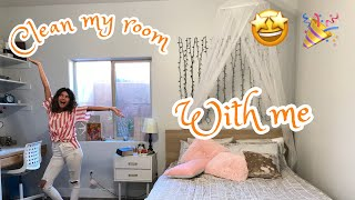clean + decorate my room with me