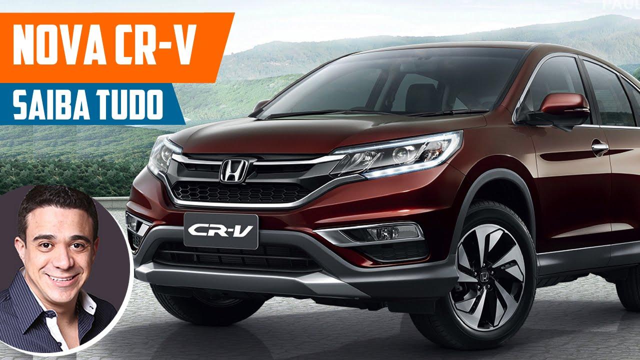 Novo Honda CRV 2016 - Preço, Consumo, Ficha Técnica, Avaliação, Itens de Série, Fotos - YouTube