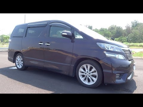 2009 Toyota Vellfire 2.4 Z Start-Up And Full Vehicle Tour
