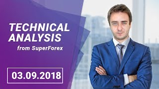 Forex Technical Analysis   USD/CAD - The Pair is not Volatile   3.09.2018