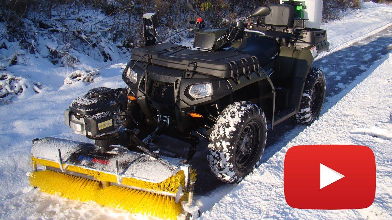 Etwas Neues genug Quad ATV Winterdienst - YouTube @WX_11