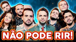 NÃO PODE RIR! com DIÁRIO SEMANAL (Bruno Motta, Osmar Campbell, Rominho Braga e Rapha Vélez)