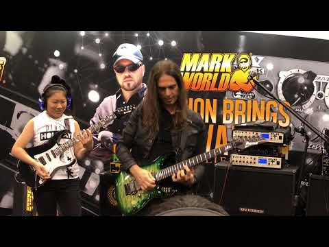 Kiko Loureiro and Li-sa X live at NAMM 2018