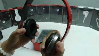 Monster Beats S450 Bluetooth Solo HD Wireless red headphone unboxing