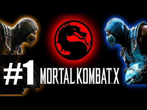 Mortal Kombat X - Прохождение на русском - часть 1 - Война продолжается