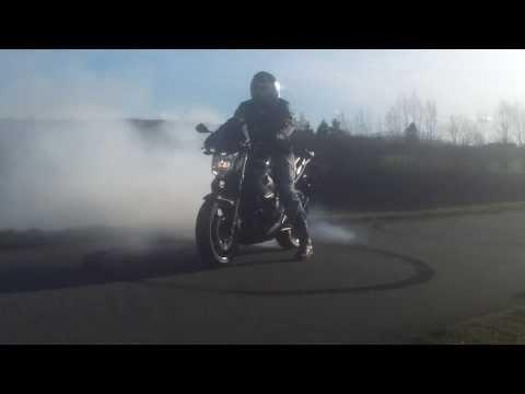 Motorcycle Burnout - Yamaha XJ6