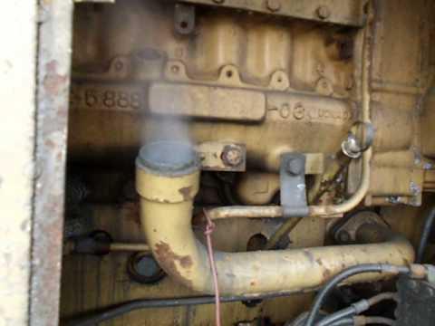severe blowby CAT 980F II engine