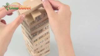 Кількість Дженга іграшка дитина дерев'яні блоки - dinodirect