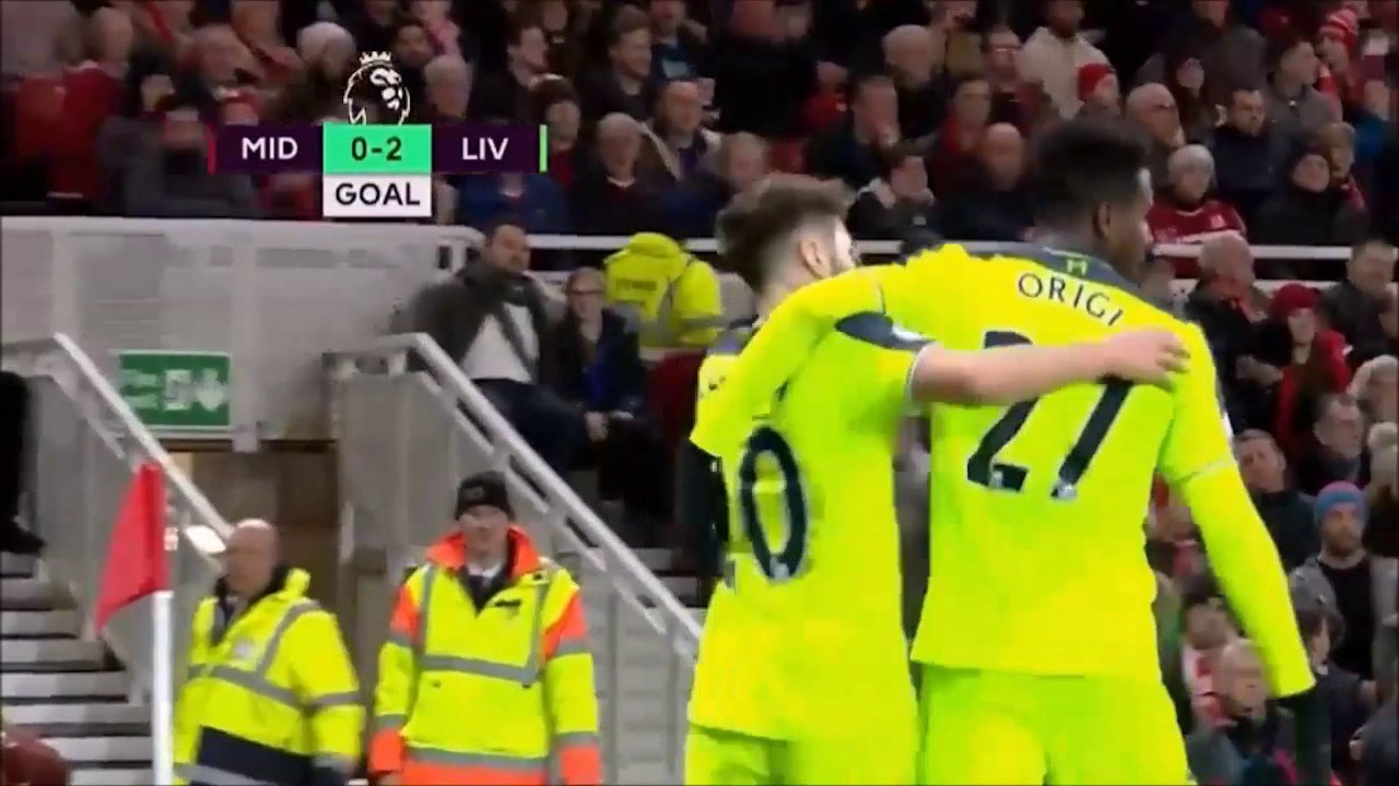 Download Middlesbrough VS Liverpool All Goals Highlights