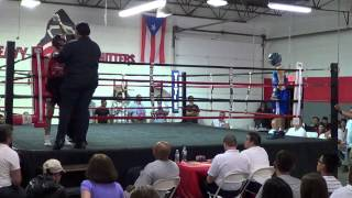 Boxing Brian Fellicia Heavy Hitters 5/4/13 Trained by George L Poulos