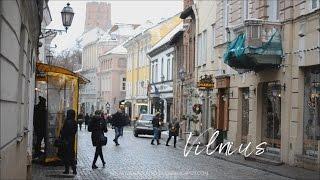 Традиционный Вильнюс под Рождество.