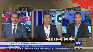 Canadá vs. Panamá en exclusiva por las pantallas de Nex Canal 21