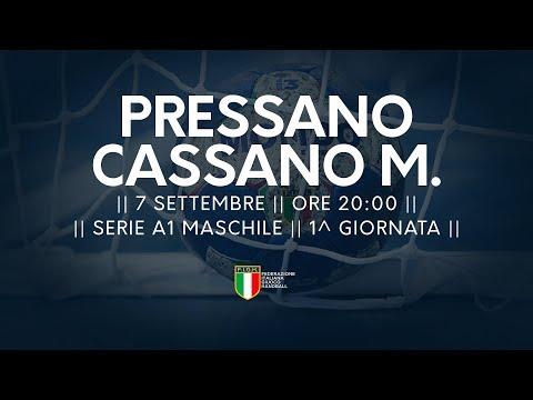 Serie A1M [1^]: Pressano - Cassano Magnago 22-22