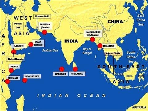 India का China की String of Pearls policy को जवाब