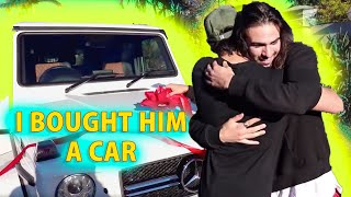 I BOUGHT MY BROTHER HIS DREAM CAR!! (emotional)