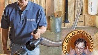 Stumpy Nubs Entertaining Review- Rockler Dust Right Woodworking Dust Collection System