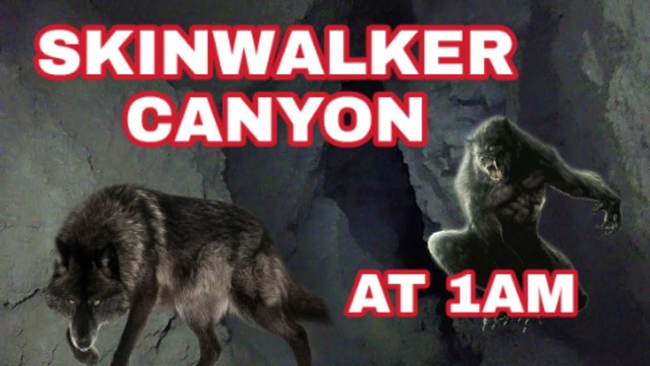 Download WENT TO SKINWALKER CANYON AT 1AM