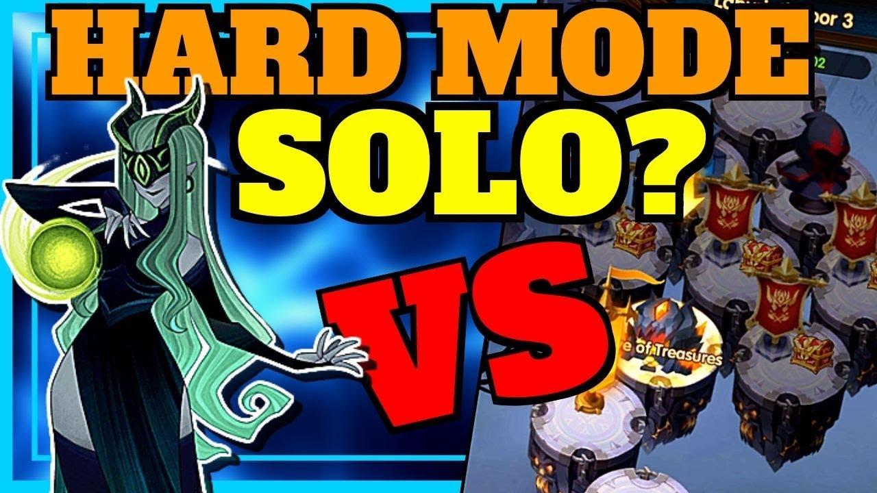 AFK ARENA] SHEMIRA SOLO LABYRINTH HARD MODE?!!!
