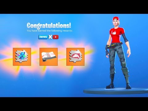 How To UNLOCK FREE YouTube REWARDS NOW In Fortnite..