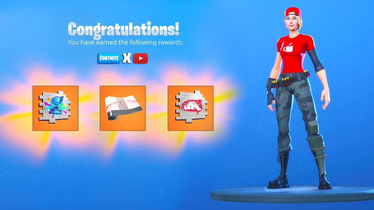How To Unlock Free Youtube Rewards Now In Fortnite