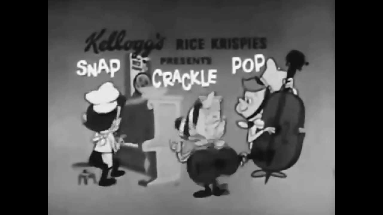 Snap Crackle Pop Rice Krispies Commercial HD