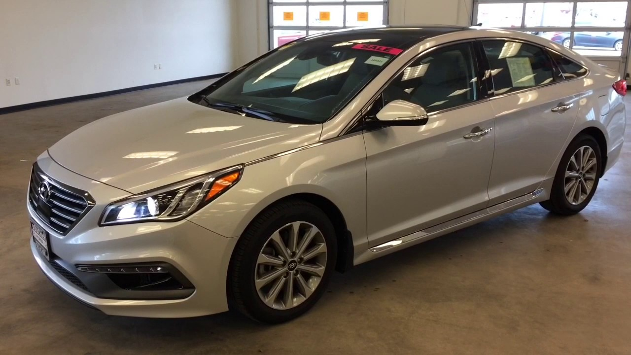 Last 2016 Hyundai Sonata Limited With Tech Package