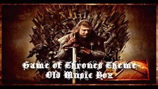 Game of Thrones Old Music Box Style