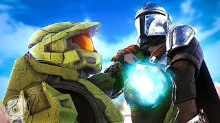 MANDALORIAN vs. MASTER CHIEF?! (A Fortnite Short Film)