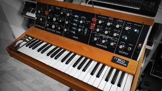 Moog Minimoog sound design tutorial Pink Floyd Welcome To The Machine